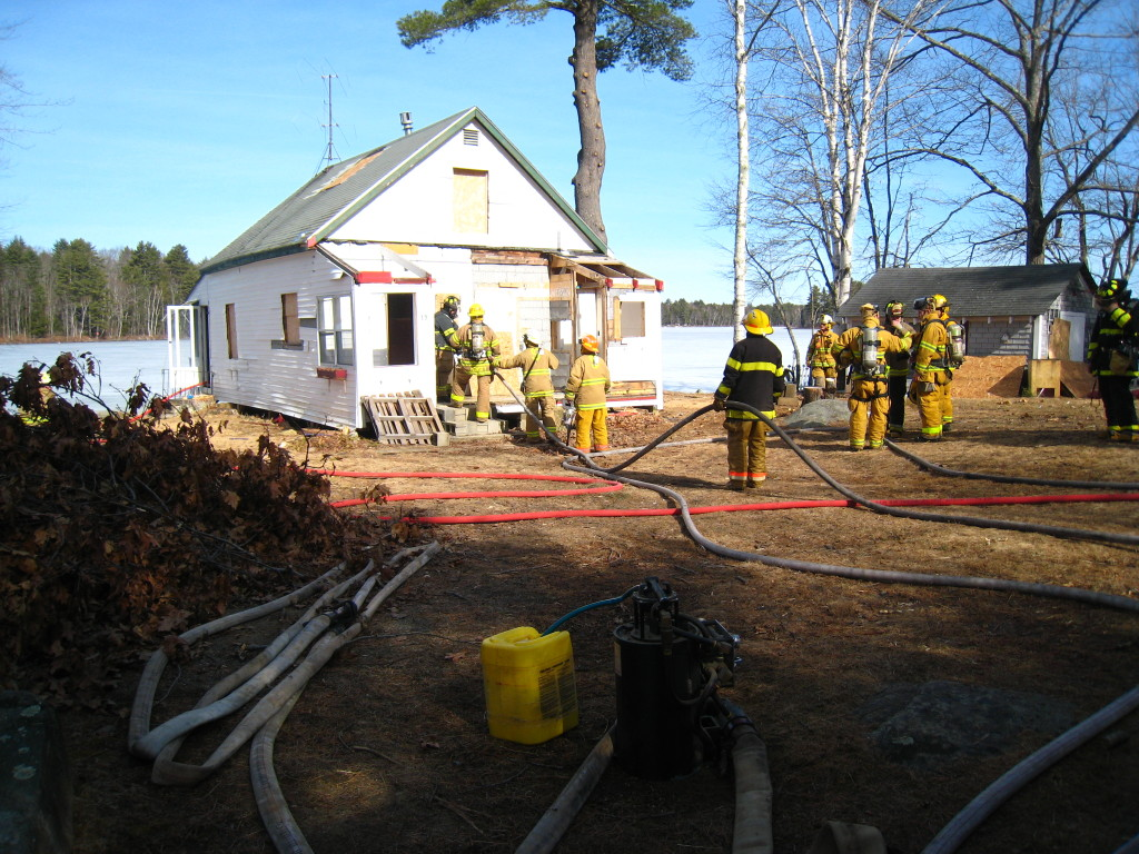 Structural Training Fire