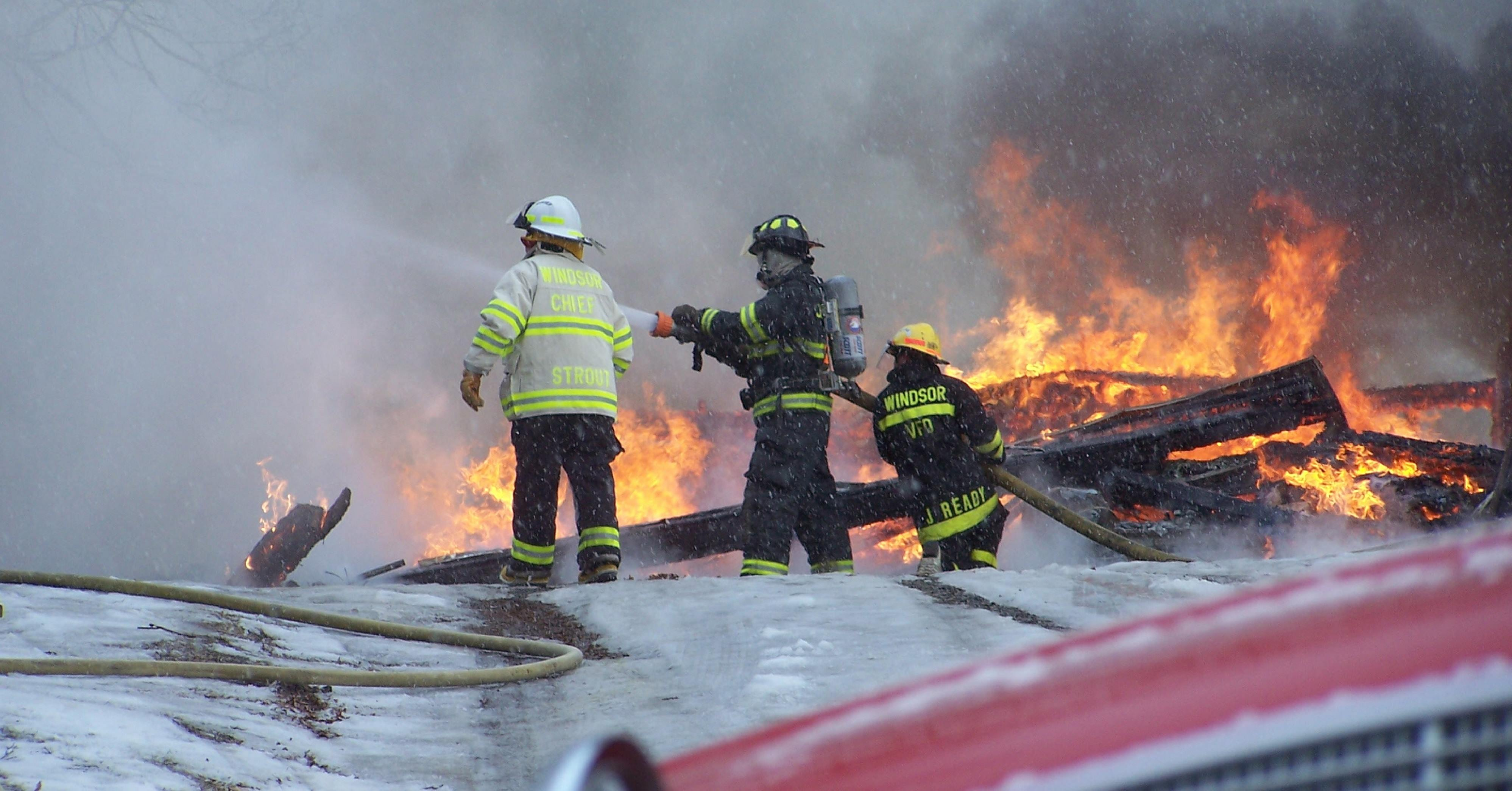 Fire Scene Pictures